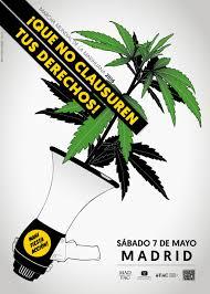Las Mujeres cannábicas estaremos presentes en la Marcha Mundial por la Marihuana este sábado 7 de Mayo en Madrid.